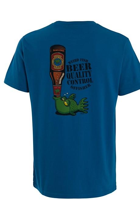 Beer Offisher Artist T-Shirt Storm Blue