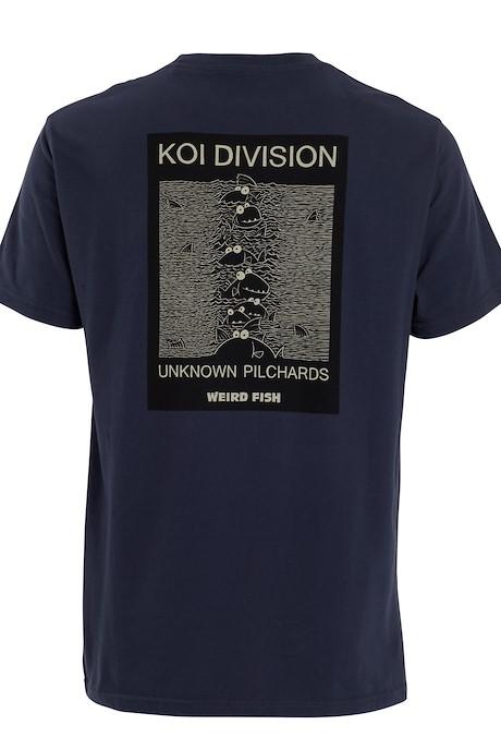 Koi Division Artist T-Shirt Navy
