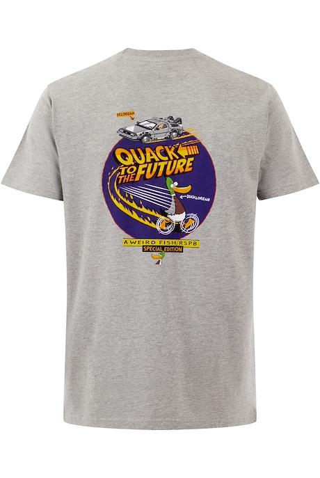 Quack RSPB Artist T-Shirt Grey Marl