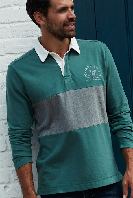 Loxhore Rugby Shirt Dark Green