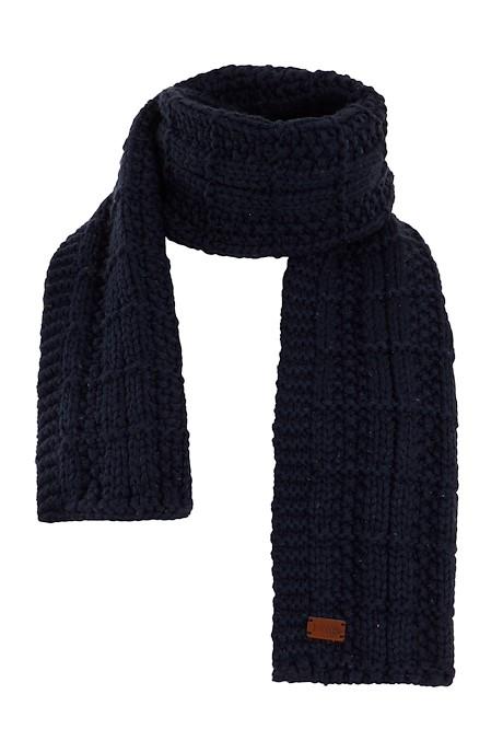 Sudbury Knit Scarf Navy