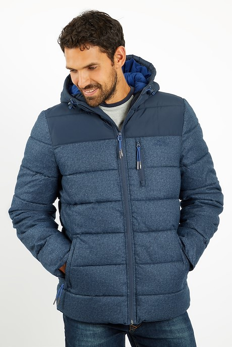 Laurent Puffa Jacket Ensign Blue