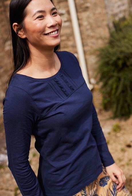 Carolina Organic Cotton Outfitter T-Shirt Navy