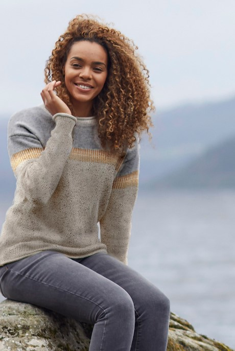 Tianna Knit Jumper Chalk