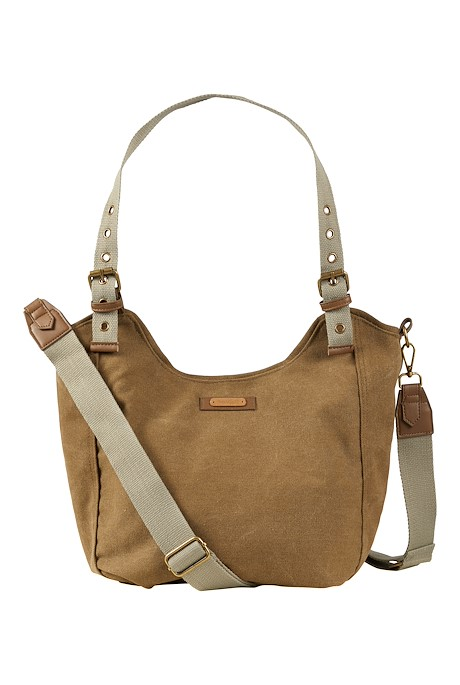 Burford Canvas Shoulder Bag Toast