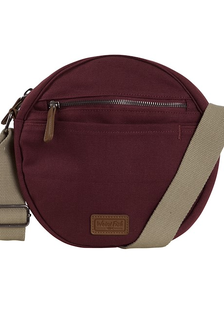 Stanton Canvas Cross Body Bag Antique Cherry