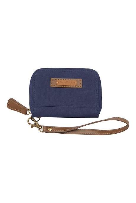 Corfe Canvas Purse Navy