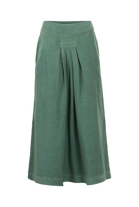 Iona Tencel Midi Skirt Army Green