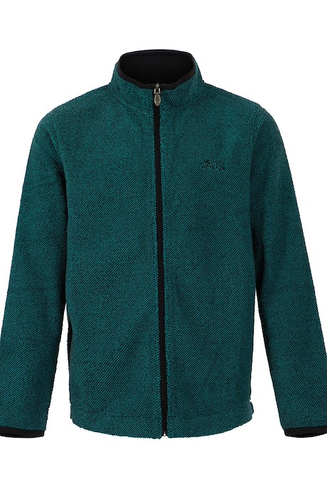 Merrill Full Zip Fleece Teal