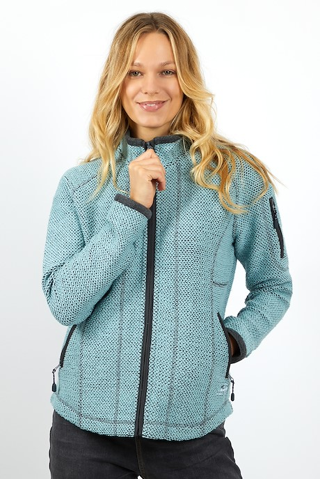 Vettia Full Zip Eco Macaroni Mint Green