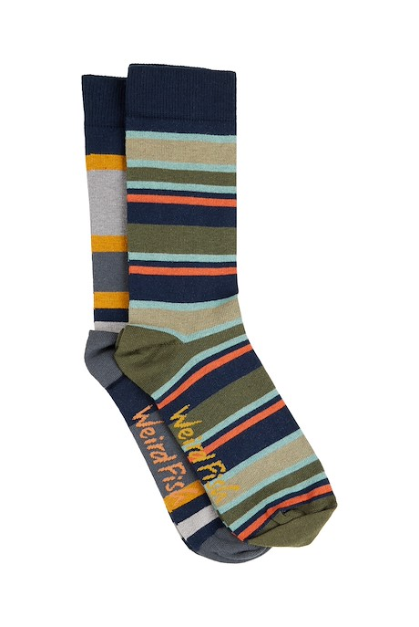Doolin Sock Set 2 Pair Pack Navy
