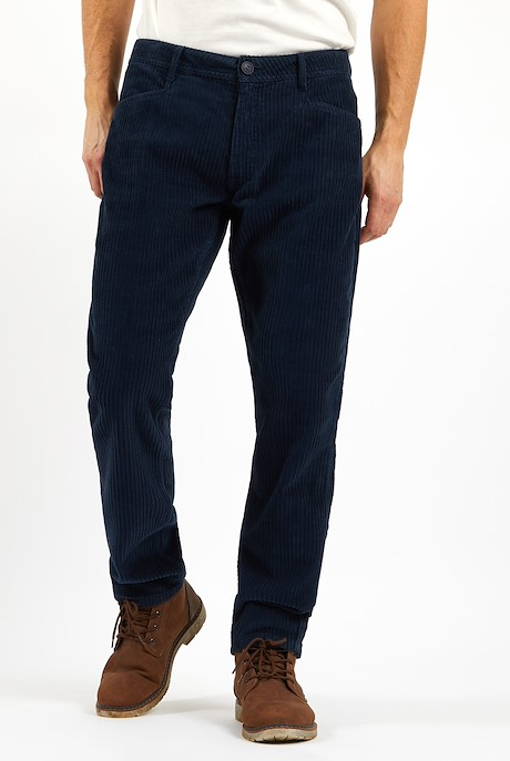 Burran Cord Trousers Navy