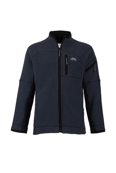 Berhan Full Zip Lined Eco Macaroni Navy