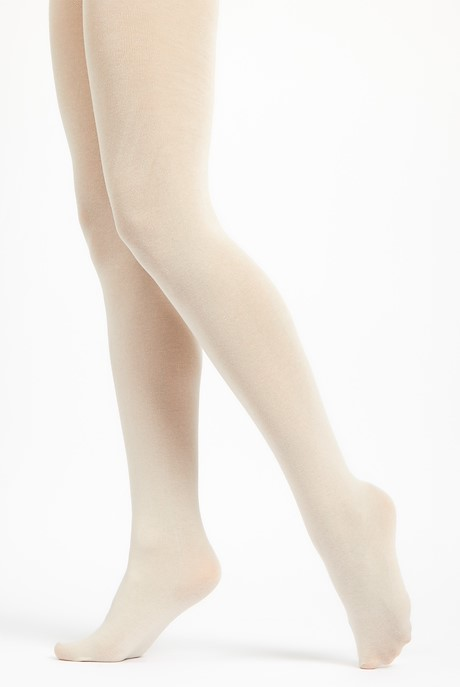 Una Block Colour Tights Chalk