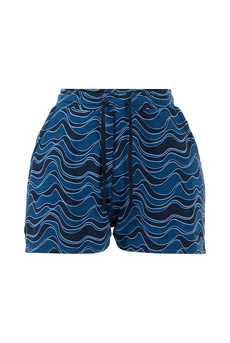 Harmonia Bamboo Printed Shorts Ensign Blue