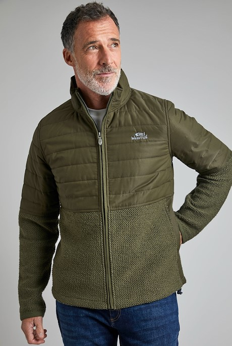 Sampson Full Zip Atlas Macaroni Dark Olive