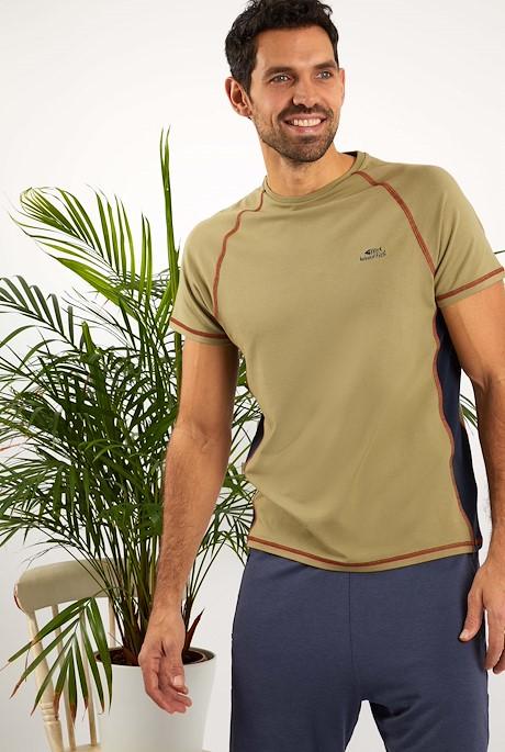Zion Bamboo T-Shirt Khaki
