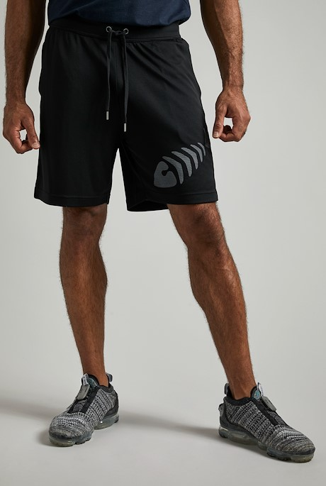 Arne Gym Shorts Black