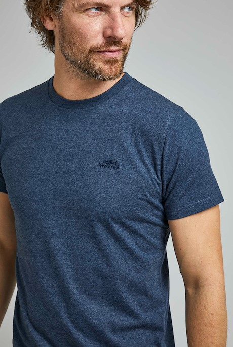 Fished Eco Branded T-Shirt Navy
