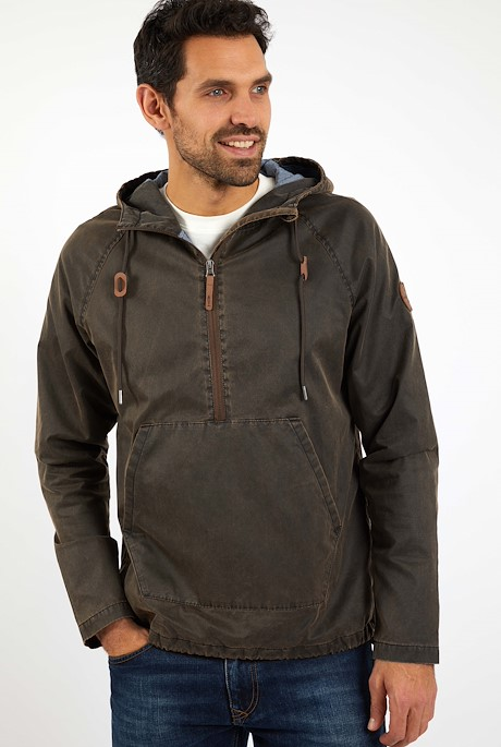 Lambourne Popover Jacket Bark