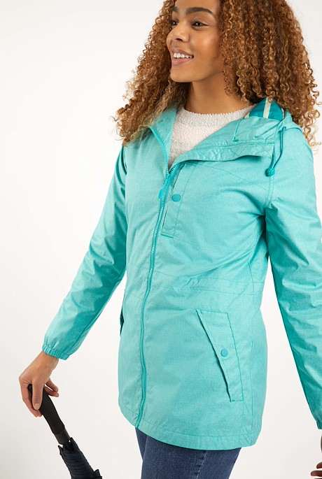 Teramo Showerproof Jacket Light Teal
