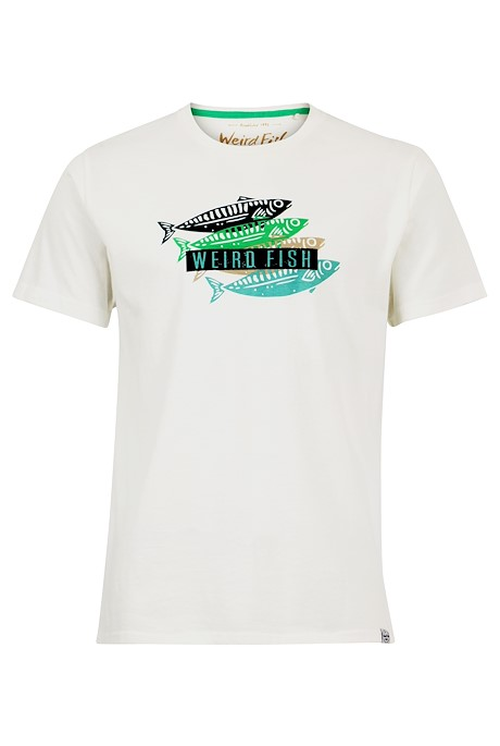 Sardinas Graphic T-Shirt Dusty White