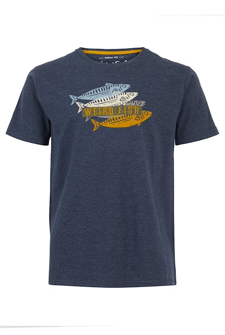 Sardinas Graphic T-Shirt Navy