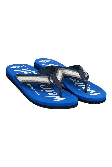 Waterford Printed Flip Flop True Blue