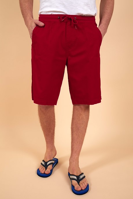 Murrisk Relaxed Casual Shorts Chilli Pepper