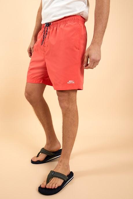 Carlone Swim Shorts Dark Coral