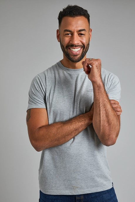 Fished Branded T-Shirt Grey