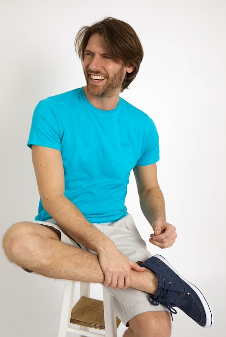 Fished Branded T-Shirt Turquoise