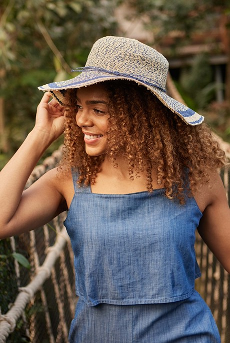 Luso Floppy Hat Denim