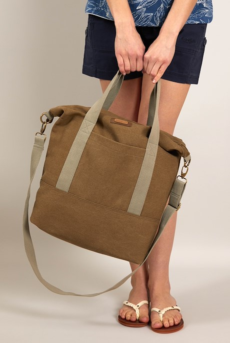 Kingham Canvas Holdall Toast