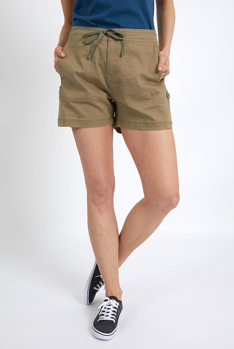 Willoughby Organic Cotton Shorts Khaki