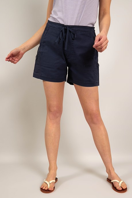 Willoughby Organic Cotton Shorts Navy