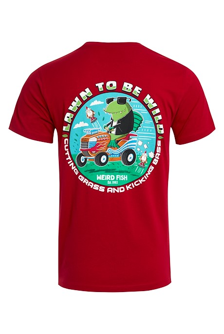 Lawn To Be Organic Cotton Artist T-Shirt Chilli Pepper