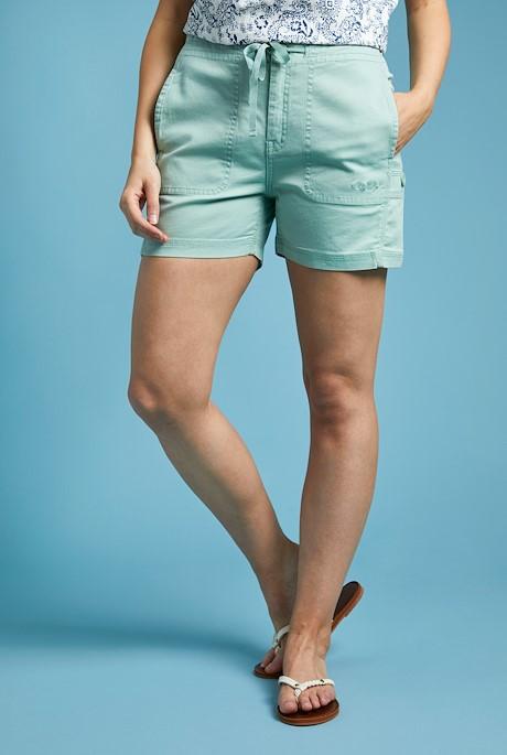 Willoughby Organic Cotton Shorts Pistachio