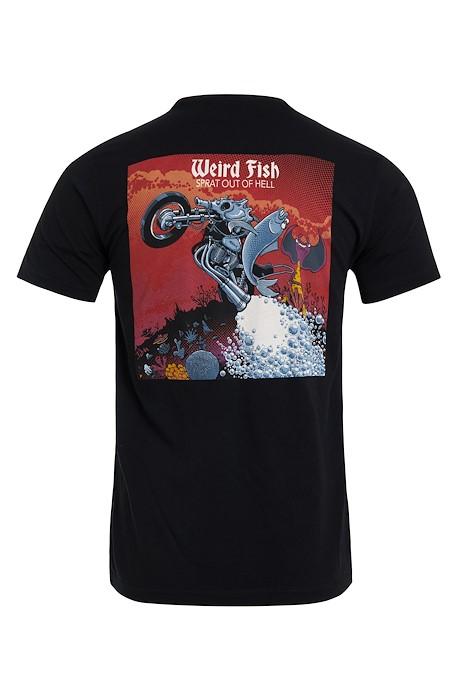 Sprat Out Tall Organic Cotton Artist T-Shirt Black