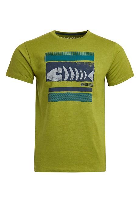 Bones Eco Branded Graphic T-Shirt Woodbine