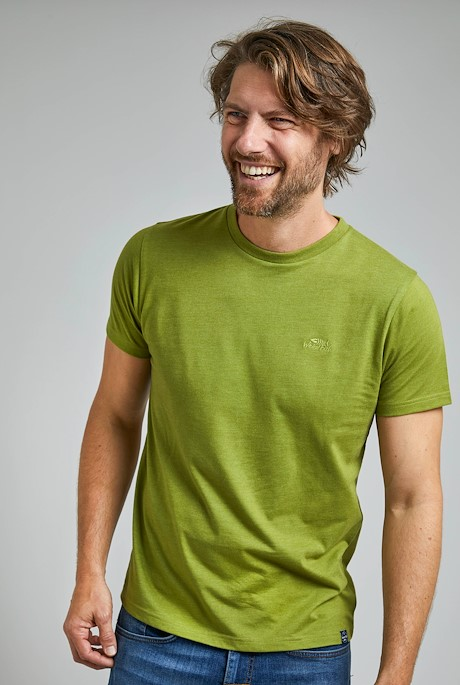 Fished Eco Branded T-Shirt Woodbine