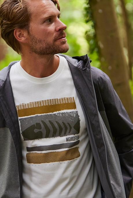 Bones Eco Branded Graphic T-Shirt Dusty White