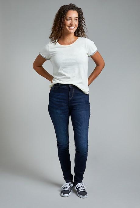 Rini Organic Slim Fit Denim Jeans Denim