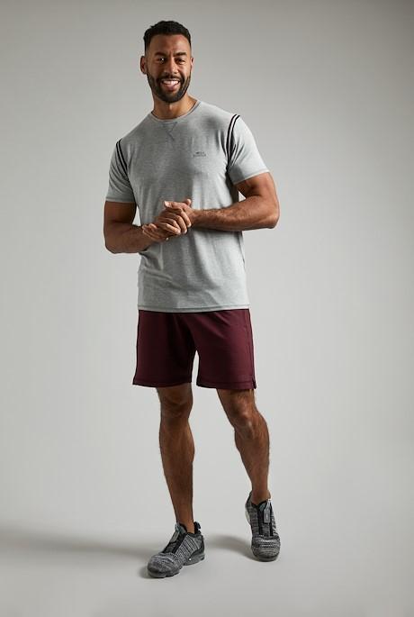 Andros Bamboo T-Shirt Grey Marl