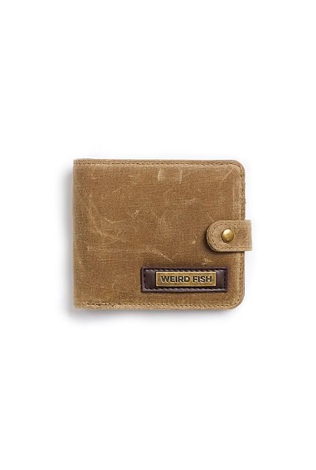 Kasper Waxed Wallet Bark