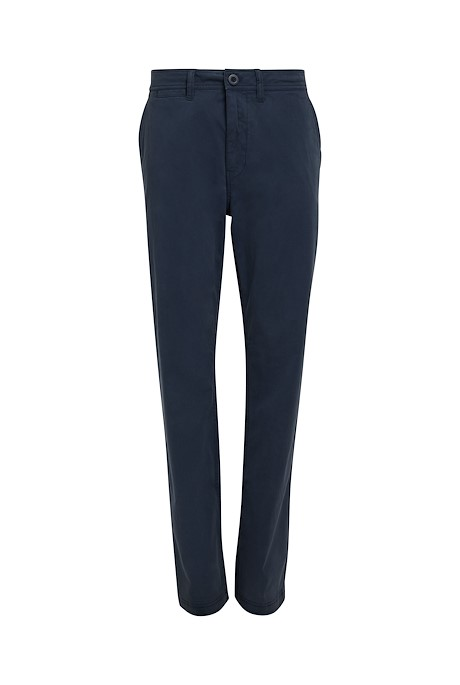 Moseley Cotton Chino Trousers Navy