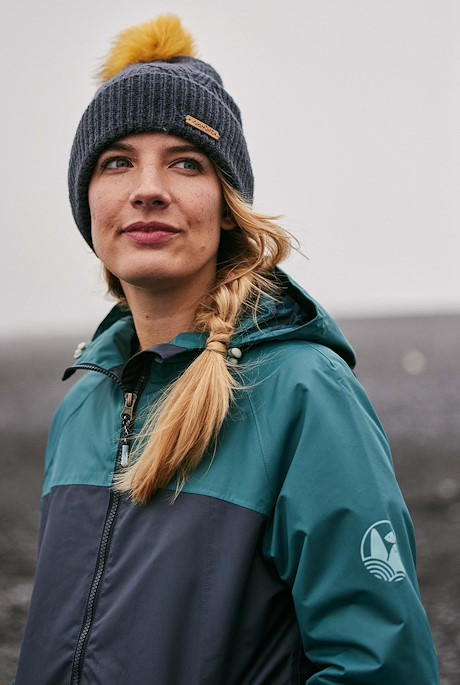Camelia Waterproof Jacket Navy