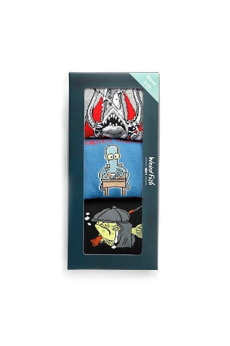 Errigal Artist Cotton Socks 3 Pack Navy