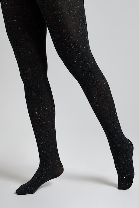 Crissy Sparkle Tights Charcoal