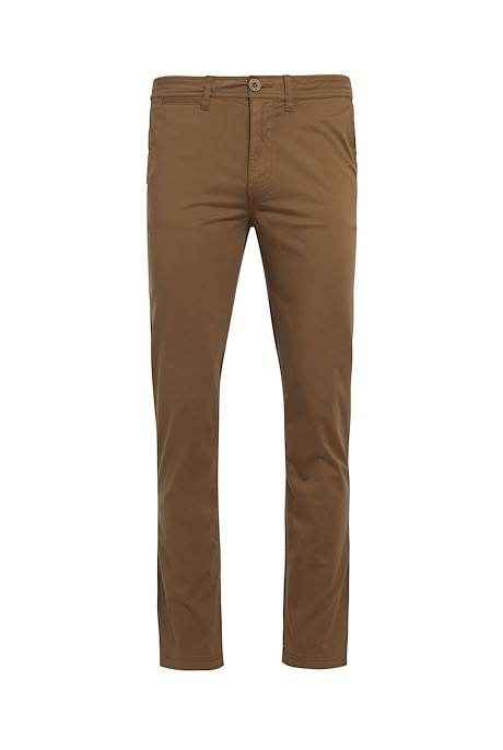 Moseley Cotton Chino Trousers Cola